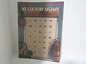 Leisure Arts My Country Afghan #862