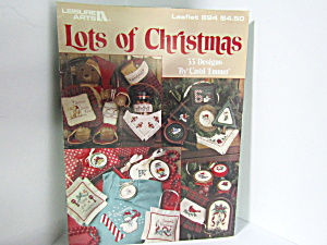 Leisure Arts Lots Of Christmas #894