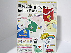 Leisure Arts Moreclothingdesigns For Little People #926