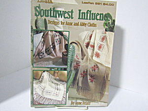 Leisure Arts Southwest Influence Anne Cloth Afghan #981