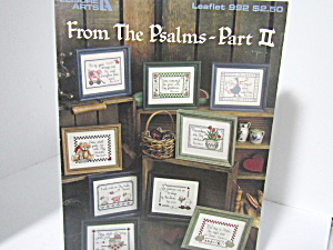 Leisure Arts From The Psalms Part Ii #992