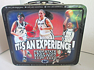 Metal Penn State Lady Lion Basketball Lunchbox