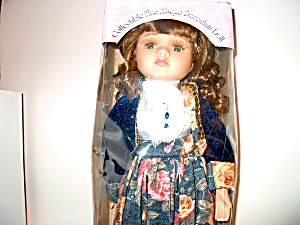 Bisque Porcelain Doll Knightsbridge Col.