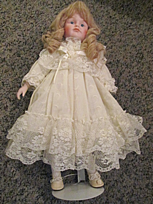 Brinn Collectible Porcelain Doll 1990
