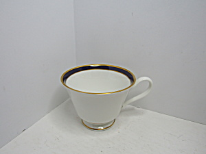 Lenox Oxford Bone China Annapolis Blue Coffee Cup