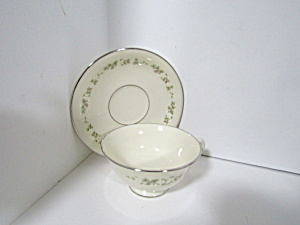 Lenox China Brookdale Cup & Saucer