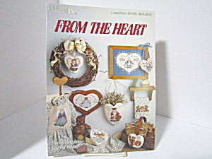 Leisure Arts Cross Stitch From The Heart #945