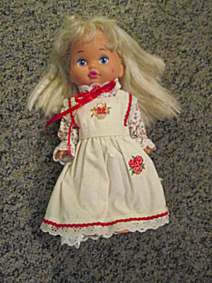 Vintage Mattel Little Miss Dress-up Doll