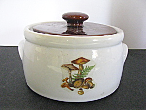 Vintage Mccoy Covered Canister