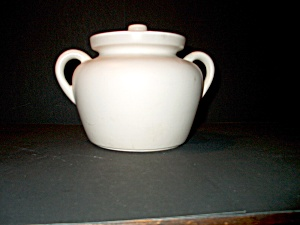 Vintage Bean Pot Mccoy Double Handle