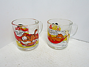 Mcdonald'sgarfield Collector Two Mug Set