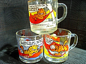 Mcdonald'sgarfield Collector Three Mug Set