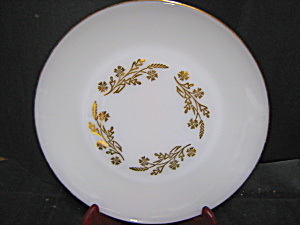 Federal Glass Meadow Gold Dinner Plate