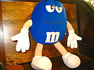 M&m Blue Plush Stuffed Toy