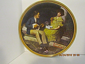 Rockwell's Third Rediscovered Women Plate Pondering