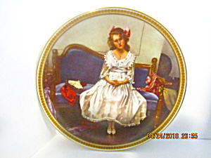 Rockwell's Fifth Rediscovered Women Plate Waiting