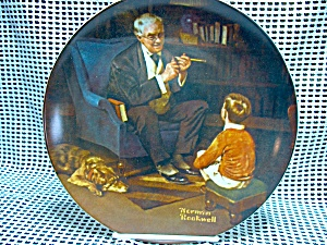 Rockwell's Sixth Heritage Series Plate The Tycoon