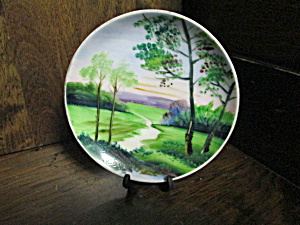 Vintage Occupied Japan Country Miniture Plate