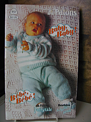 Patons Baby Baby Booklet #612
