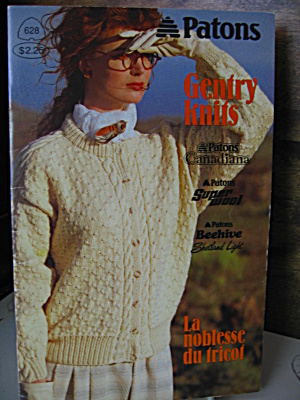 Patons Gentry Knits Booklet #628