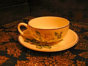 Golden Scepter Cup And Saucer Set