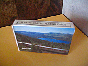 Amtrak Playing Cards