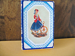 Vintage Nouvelle Lady Playing Cards