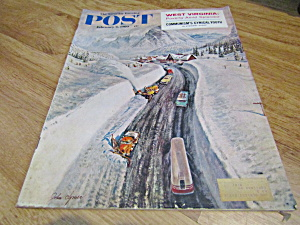 Vintage Magazine Saturday Evening Post Feb 6, 1960