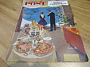Vintage Magazine Saturday Evening Post Feb 20, 1960