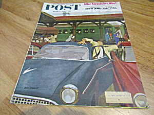 Vintage Magazine Saturday Evening Post March 5, 1960