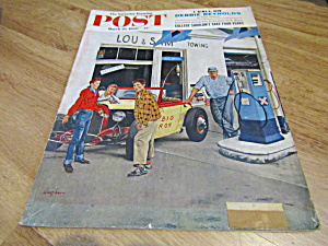 Vintage Magazine Saturday Evening Post March 26, 1960