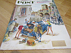 Vintage Magazine Saturday Evening Post Aug 2,1958