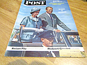 Vintage Magazine Saturday Evening Post April 27, 1963