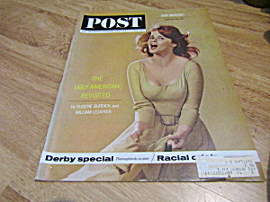 Vintage Magazine Saturday Evening Post May 4, 1963