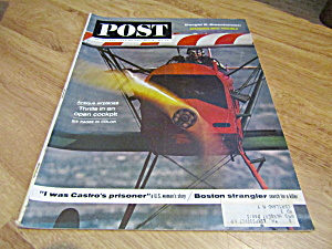 Vintage Magazine Saturday Evening Post May 18, 1963