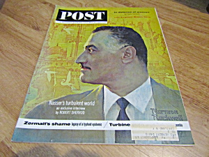 Vintage Magazine Saturday Evening Post May 25, 1963