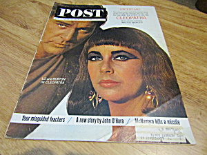 Vintage Magazine Saturday Evening Post June 1, 1963