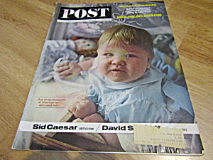 Vintage Magazine Saturday Evening Post Feb 16, 1963
