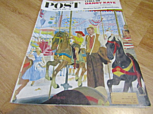 Vintage Magazine Saturday Evening Post Aug 9,1958