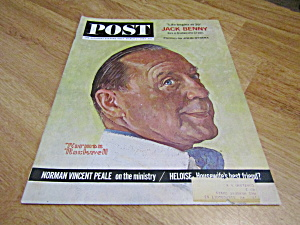 Vintage Magazine Saturday Evening Post March 2, 1963