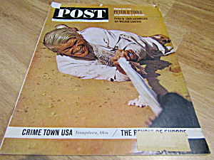 Vintage Magazine Saturday Evening Post March 9, 1963