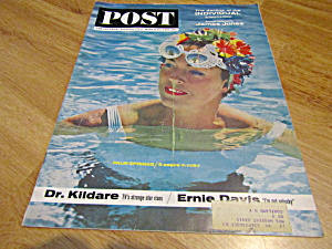 Vintage Magazine Saturday Evening Post March 30, 1963