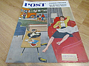 Vintage Magazine Saturday Evening Post Sept 12,1959