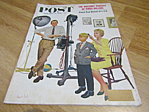 Vintage Magazine Saturday Evening Post Sept 26,1959