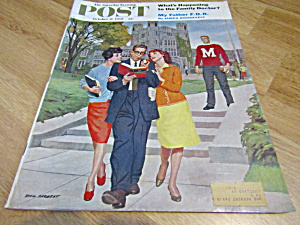 Vintage Magazine Saturday Evening Post Oct 17,1959