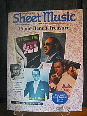 Sheet Music Magazine Piano Bench Treasrues