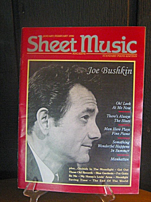 Sheet Music Magazine Joe Bushkin