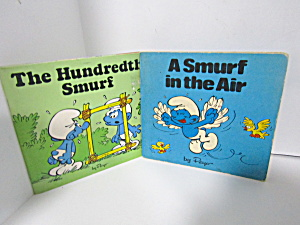 Vintage Book Set Smurf Mini-storybooks