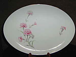 Royal Court Carnation Oval Plater