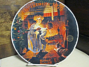 Rockwell Limited Edition Plate Somebody's Up There